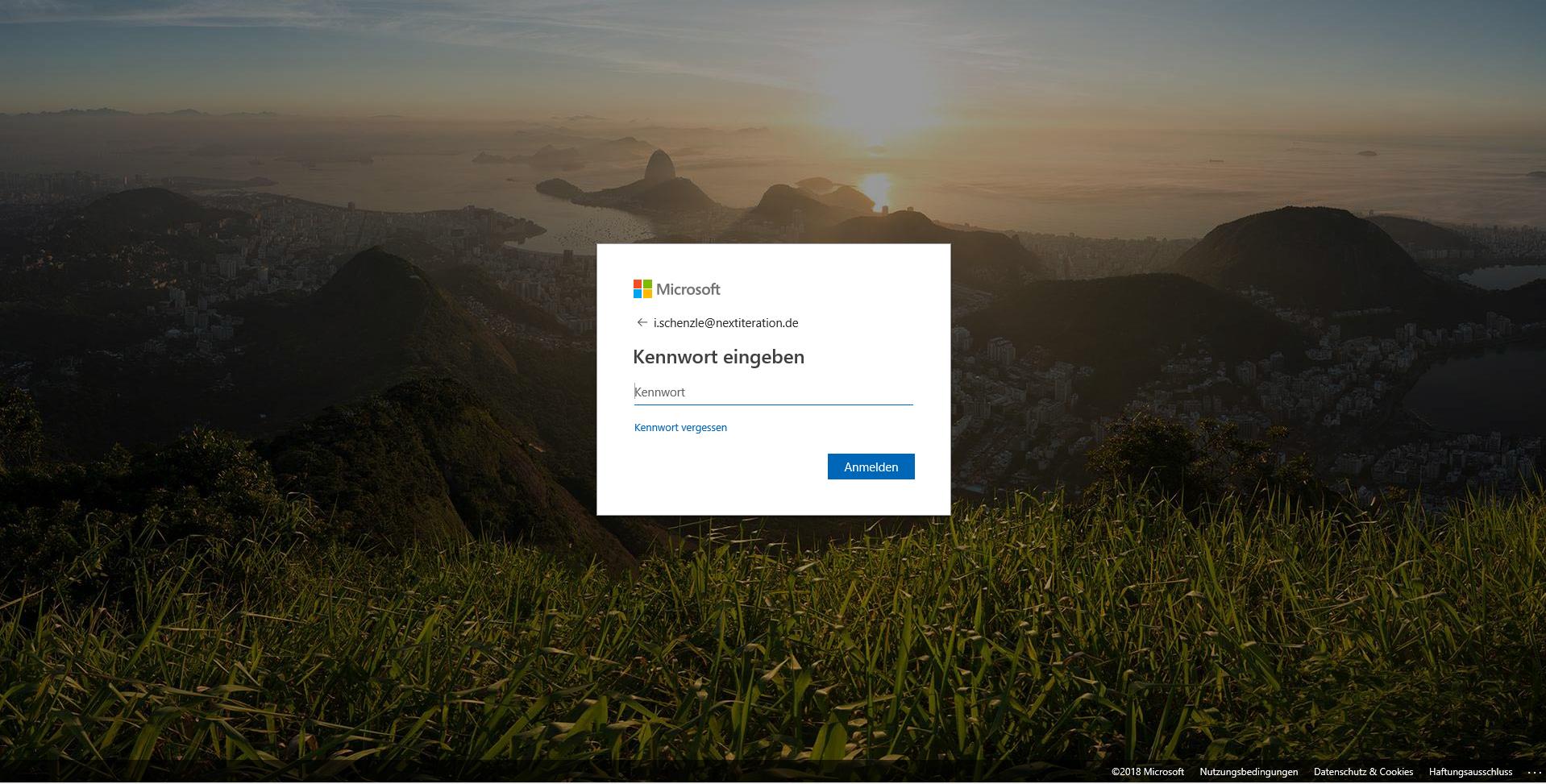 Microsoft Office 365 Login Seite Branding