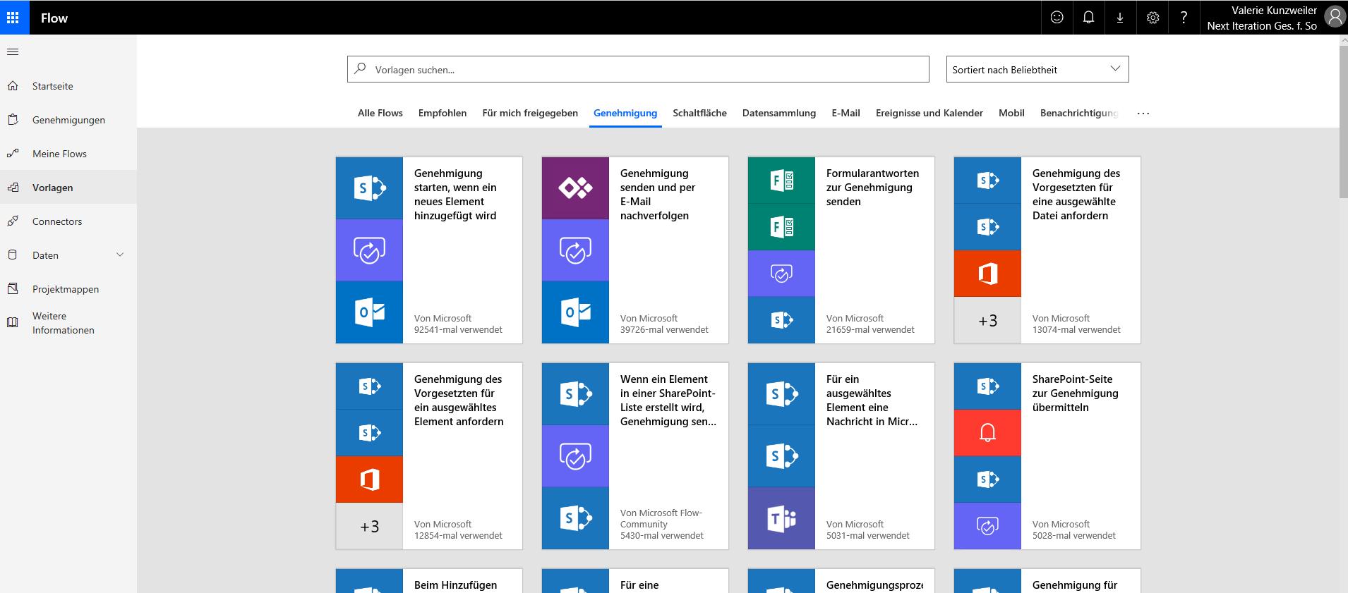 Digitale Geschäftsprozesse mit Microsoft Flow